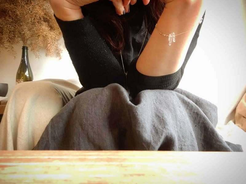 """""""glaçon"""" 〜 氷柱のブレスレットづくりと 真冬のお茶会 〜の画像"""