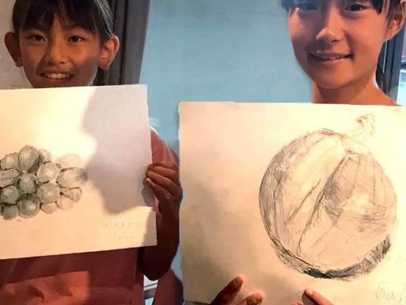 小学生対象!料理と絵のレッスン♬食材を知って作って描いて食べよう!の画像