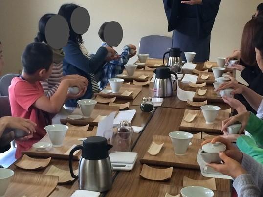 「初手前三法」季節を愛でる煎茶体験の画像