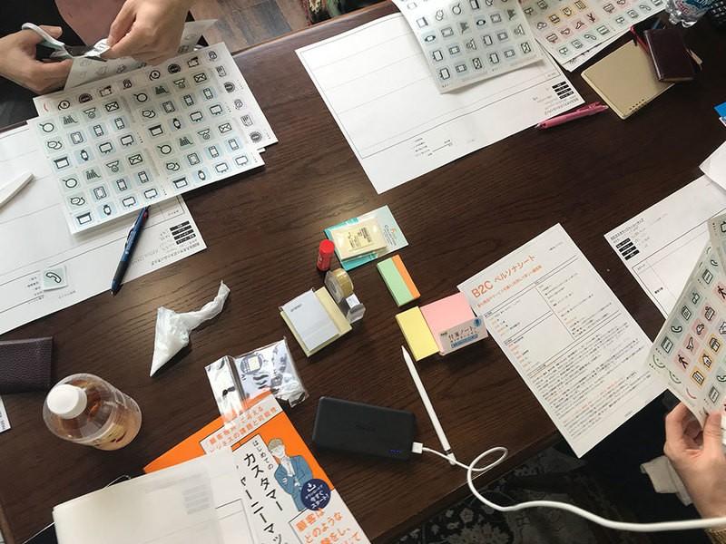 UX初心者向けカスタマージャーニーマップワークショップの画像