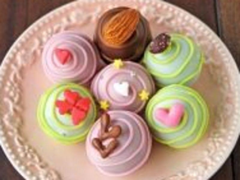 樹脂粘土で創るチョコレート&クッキーを制作するワークショップ!の画像
