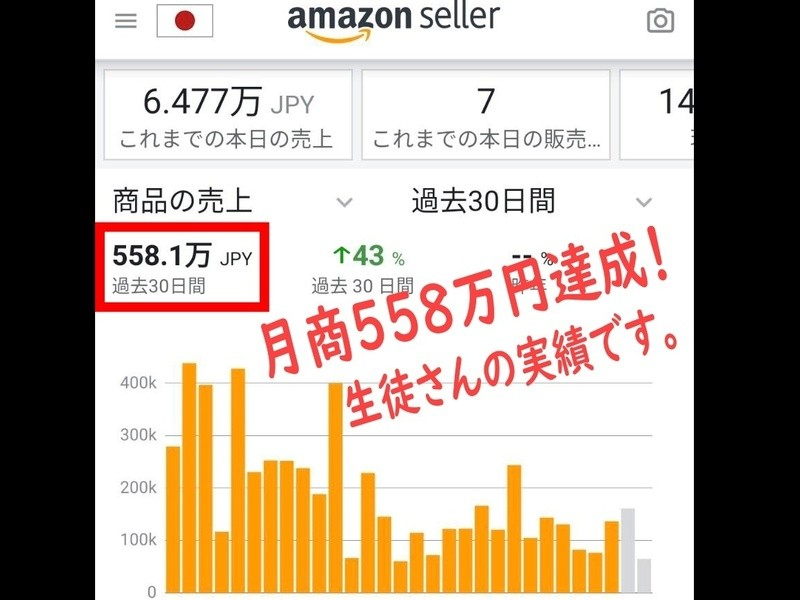 【副業ランキング1位】初心者から始める☆Amazon物販で稼ぐ秘訣の画像