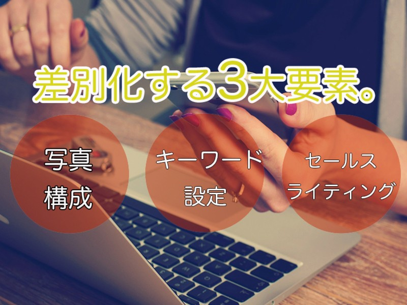 Amazon メルカリ 売れる商品カタログ作成講座 (90分)の画像