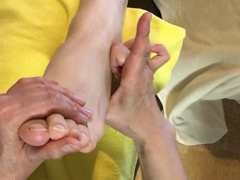 女性専用♡足もみ体験会講座の画像