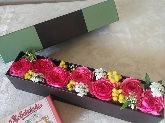 奥様へ 既婚男性 40〜55歳 限定!ホワイトデーにお花を♥の画像