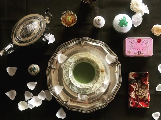 【初心者でも簡単】茶道とモダンスタイルのテーブル茶道体験レッスンの画像