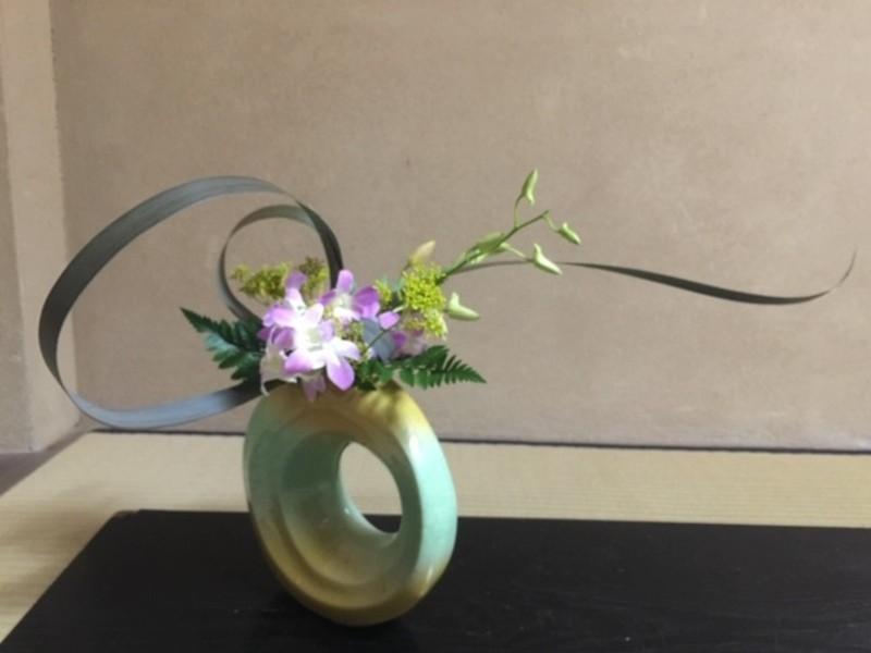 550年の伝統池坊生花は、モダンな花を活ける技術!の画像