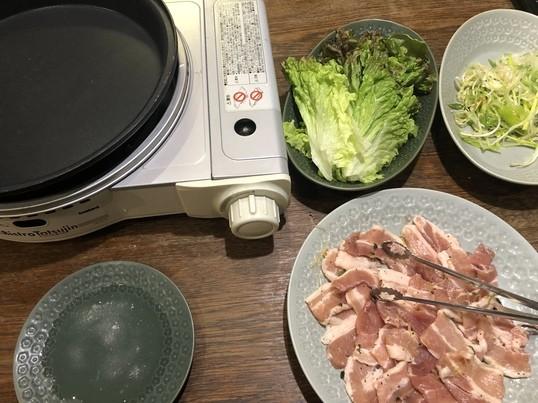 韓国家庭料理教室の画像