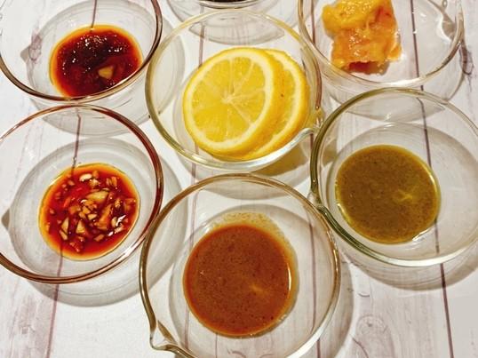 7種麹甘酒だれ+塩レモン調味料8種!免疫力UP楽学講座♡ 消毒液付の画像