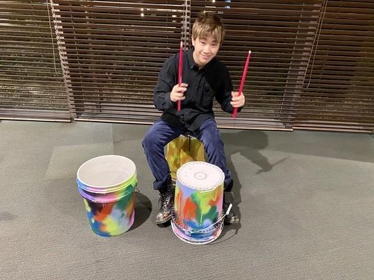 バケツドラムの叩き方を楽しく学びます!!の画像