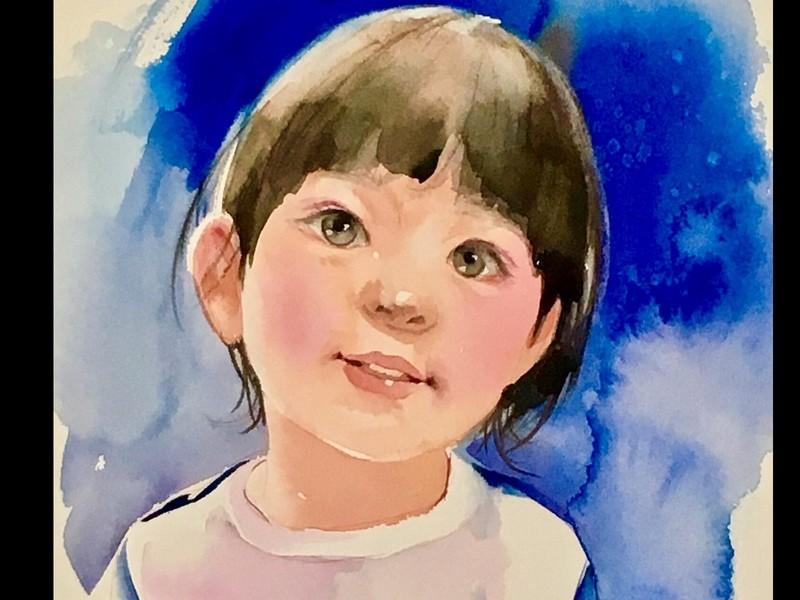 山内三貴子の透明水彩教室の画像