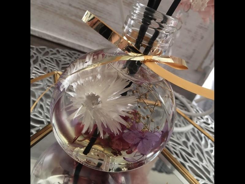 花と香りを同時に楽しめるハーバリウムディフューザーをつくろう!の画像