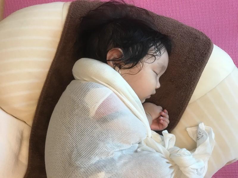 ママの睡眠不足解消!新生児から始める「おひなまき」の巻き方講座 の画像