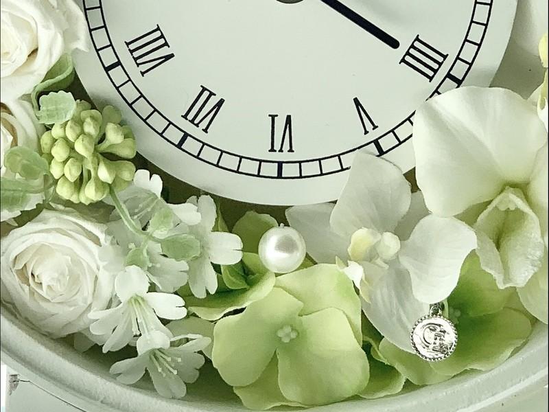 オンラインで開催!!🌸『花時計』作り🌸の画像