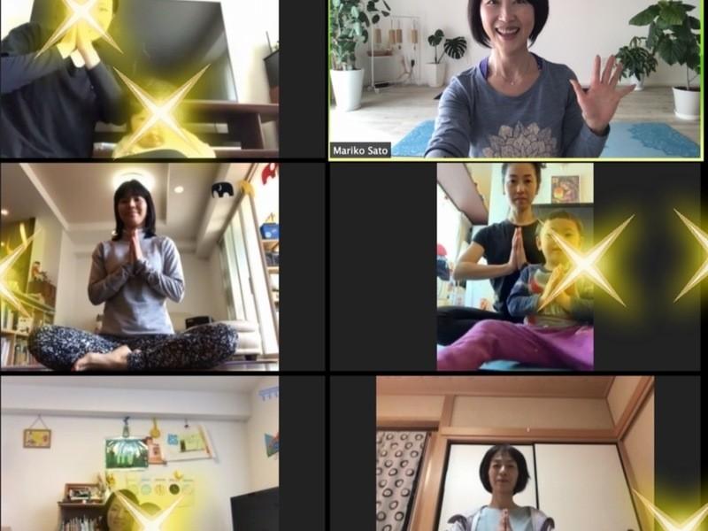 【オンライン開催】自宅待機のイライラ解消!オンラインヨガの画像