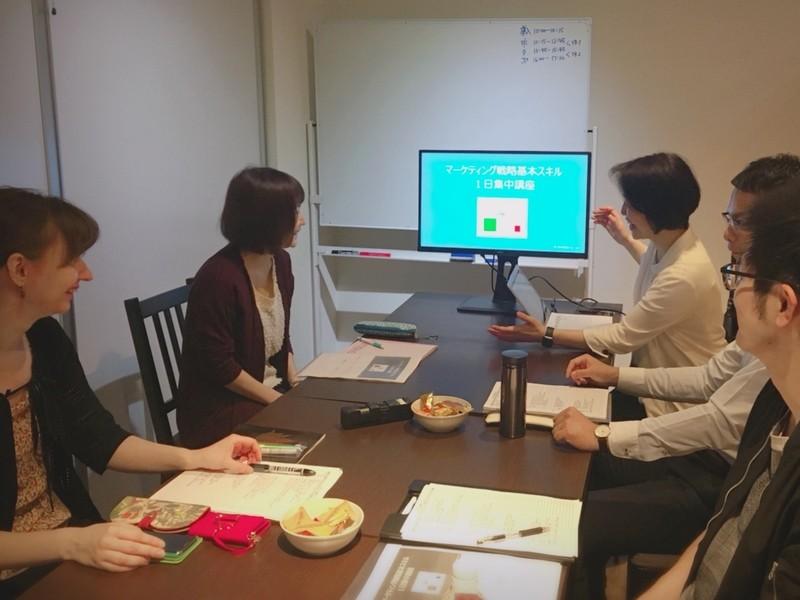 マーケティング戦略基本スキル半日集中講座の画像