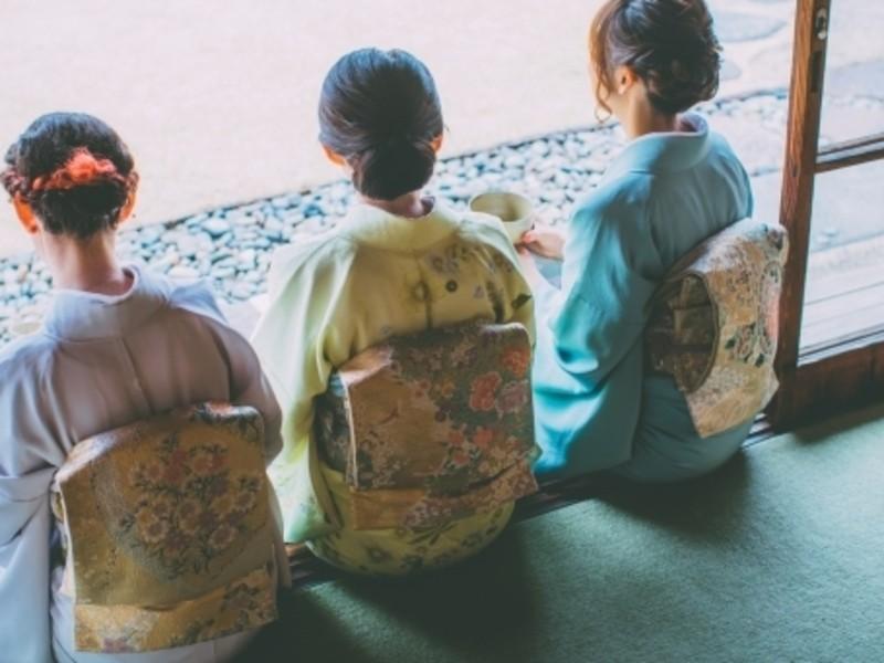 オンライン de お着物レッスン♡中級フォーマル たっぷり2時間 の画像