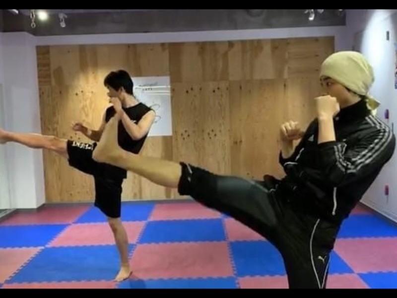 【オンライン】30分で爆汗・ K-1 FIT FIGHTの画像