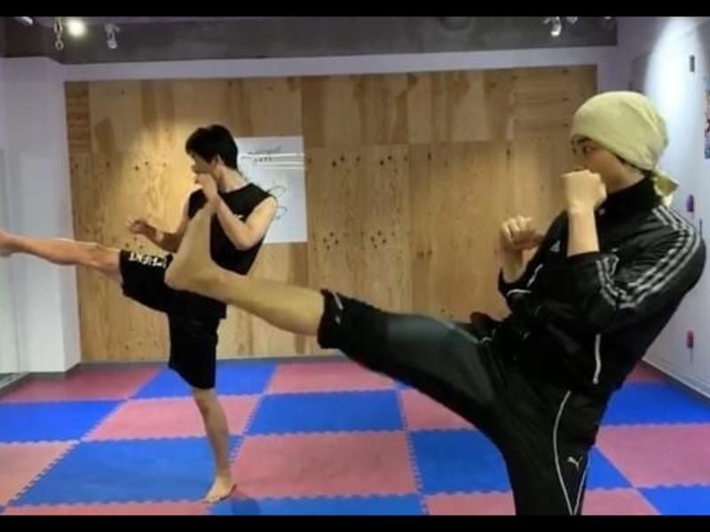 【オンライン】 希望日にマンツーマン K-1 FIT FIGHT!の画像