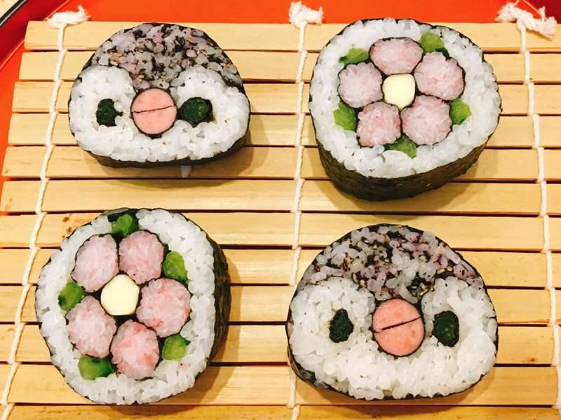 デコ巻き寿司 レッスン初級コース(2種類・レッスン動画付き)の画像