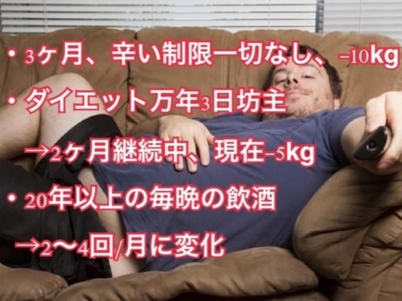 【男性限定オンライン】90分パーソナルオンラインダイエットの画像