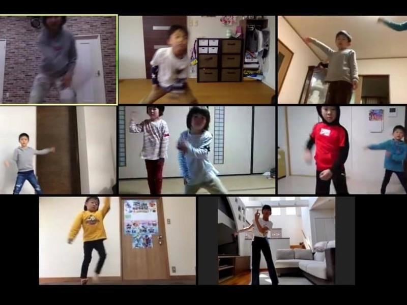 親子で一緒に踊ろう!運動不足解消!オンラインダンスレッスンの画像