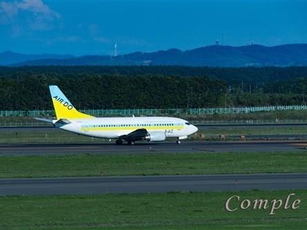 北海道 新千歳空港 飛行機写真を格好よく撮るカメラ教室の画像