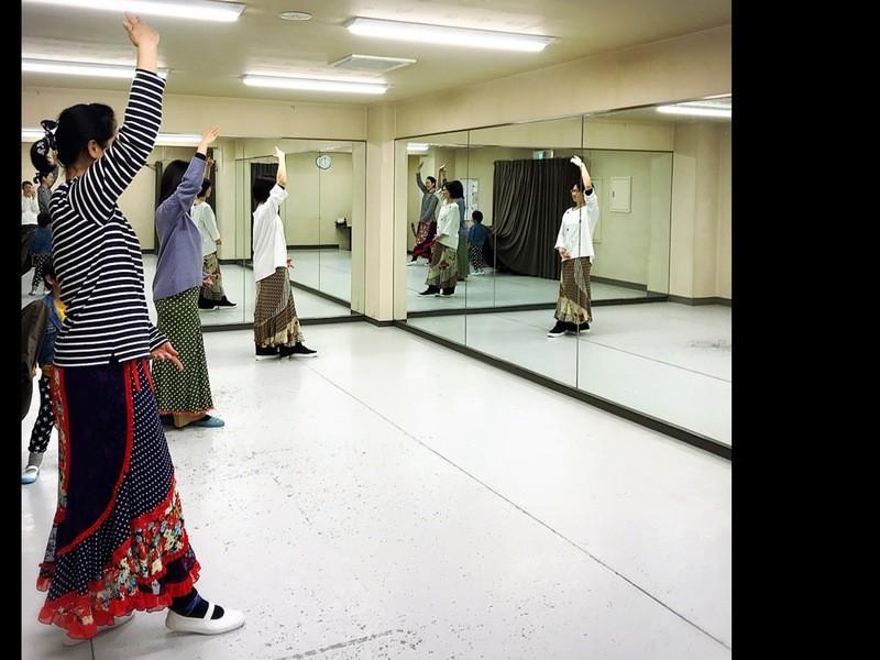 ZOOMオンライン講座「セビジャーナス おうちでフラメンコ入門」 の画像