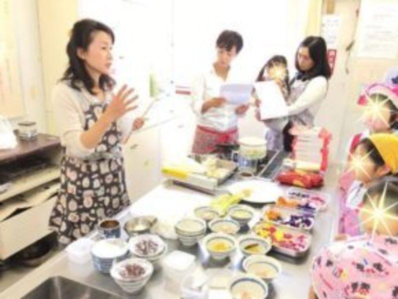 【オンライン親子料理】お花の味くらべ!食べるお花のお料理レッスンの画像