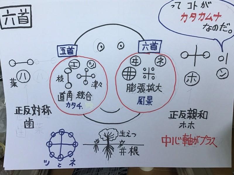 日本語とカタカムナ。不思議さと壮大な世界観の画像
