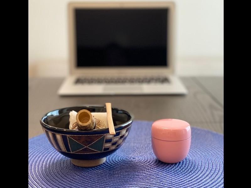 オンラインテーブル茶道体験『お点前をしてお茶を点ててみましょう!』の画像