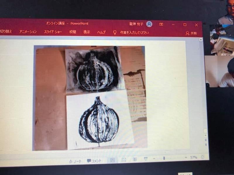 【オンライン講座】ワックスアート蜜蝋画でカードサイズの絵を描こう!の画像