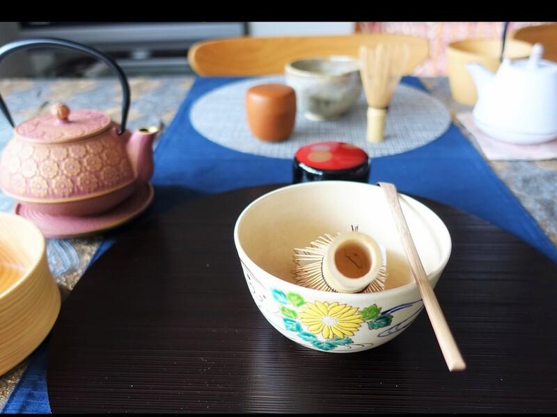 Cha no Yu おもてなしテーブル茶道(かんたん点前)の画像
