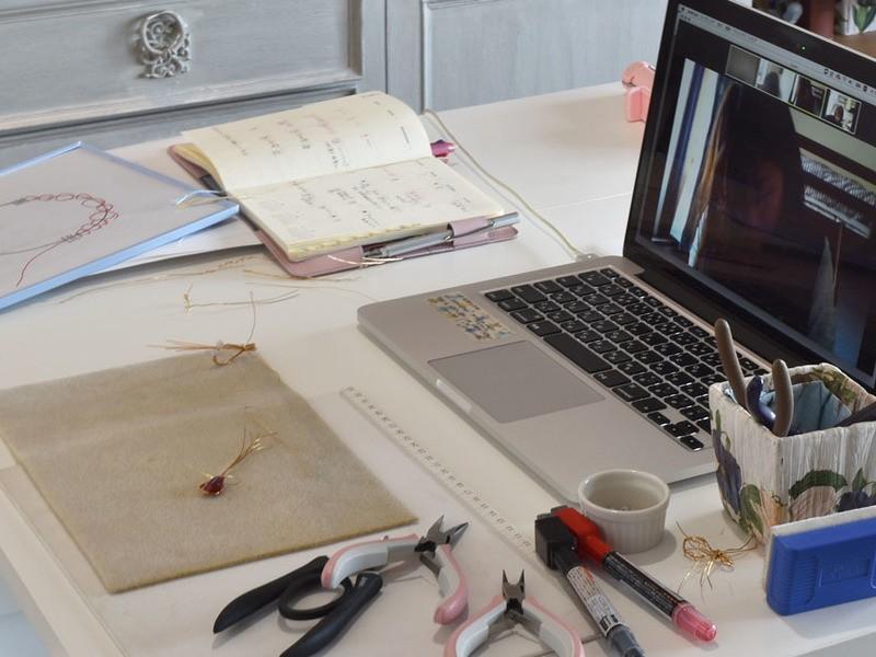 【オンライン開催】ワンランク上の天然石ワイヤージュエリー作りの画像