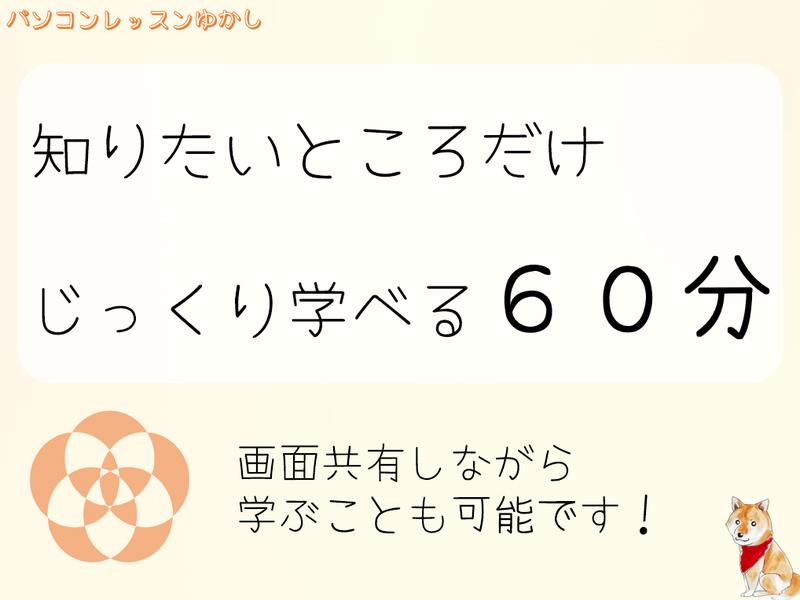 ワード =プライベートレッスン= ☆60分☆の画像