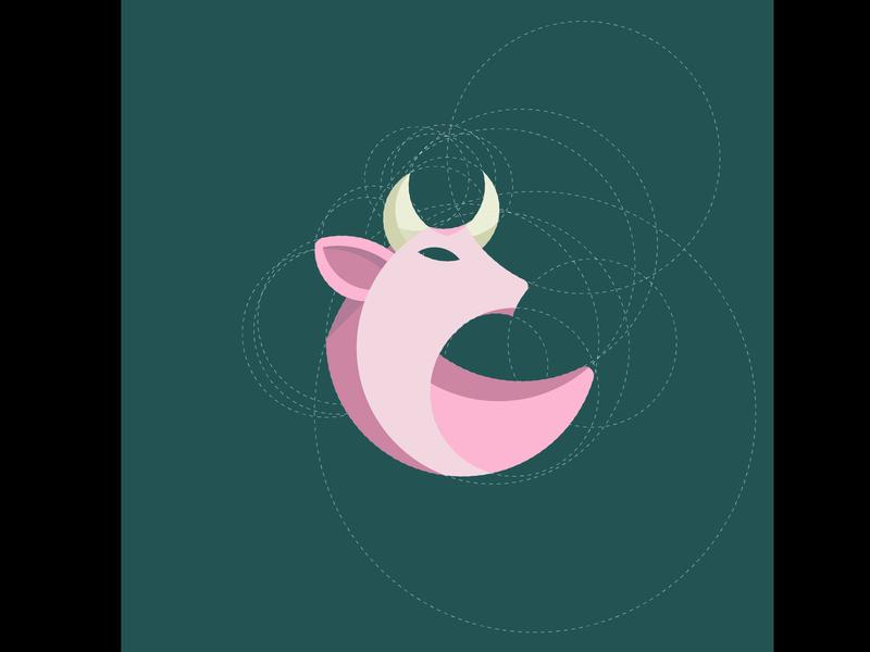 デザイン&イラスト アニマルロゴ(初級者〜中級者)の画像