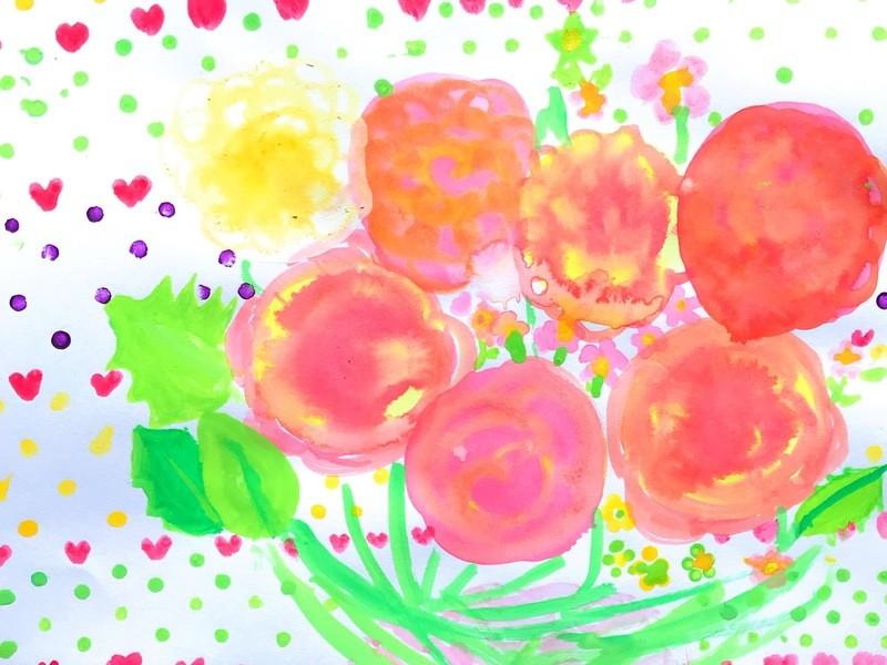 絵が得意になる★子ども水彩画教室★の画像