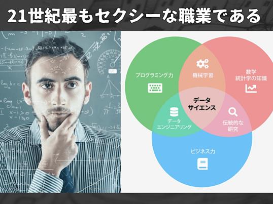 【限定5名】初めの1歩を踏み出せ!データサイエンティスト入門講座!の画像