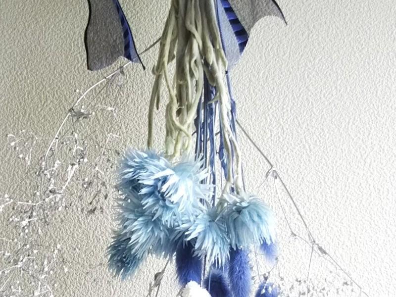 ♡初心者でもおしゃれにまとまるスワッグ【壁飾り】のつくり方の画像