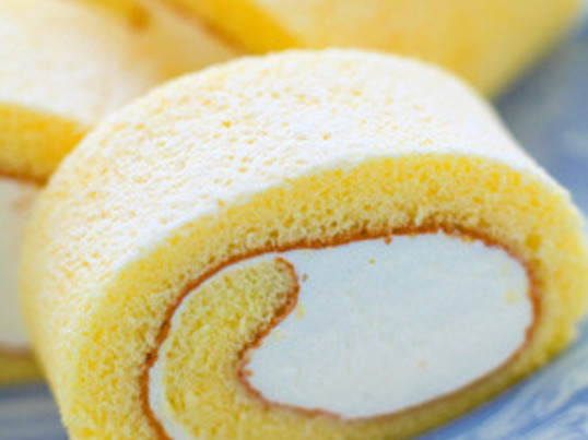 子供に優しい砂糖控えめの無添加ロールケーキの画像