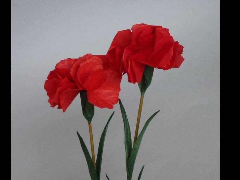 和紙の花ORIART体験教室の画像
