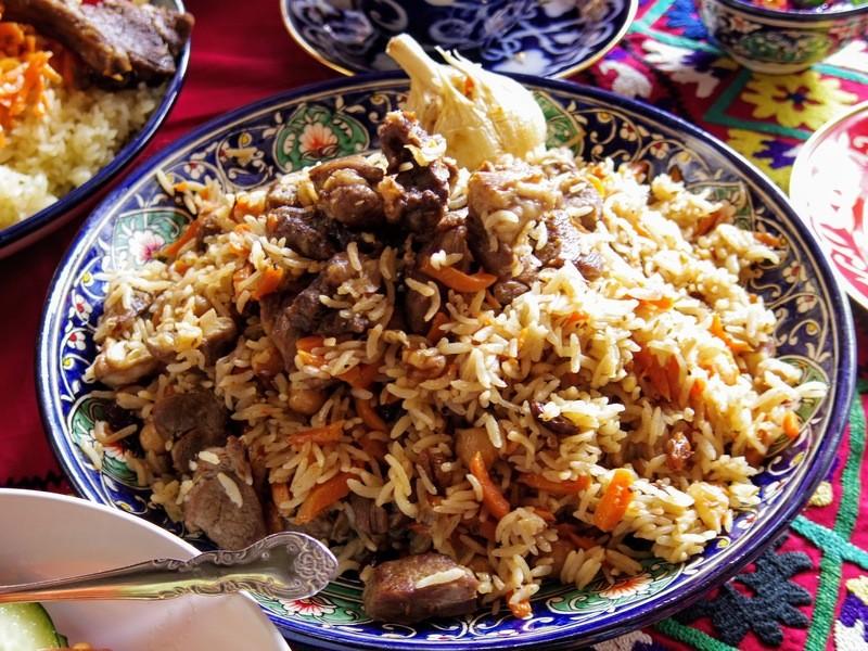 zoomオンライン☆中央アジアの炊き込みご飯「プロフ」料理教室の画像