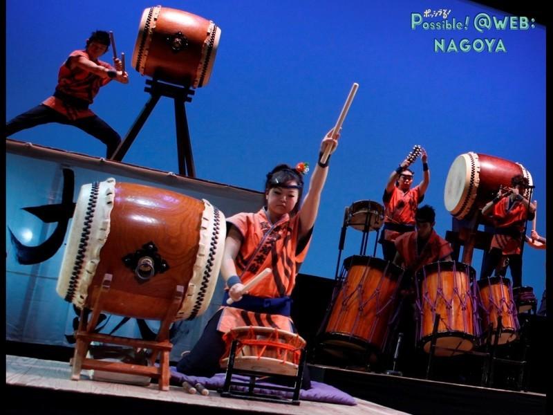 尾張地方における和太鼓芸能の実演と和太鼓の歴史・基礎レクチャーの画像