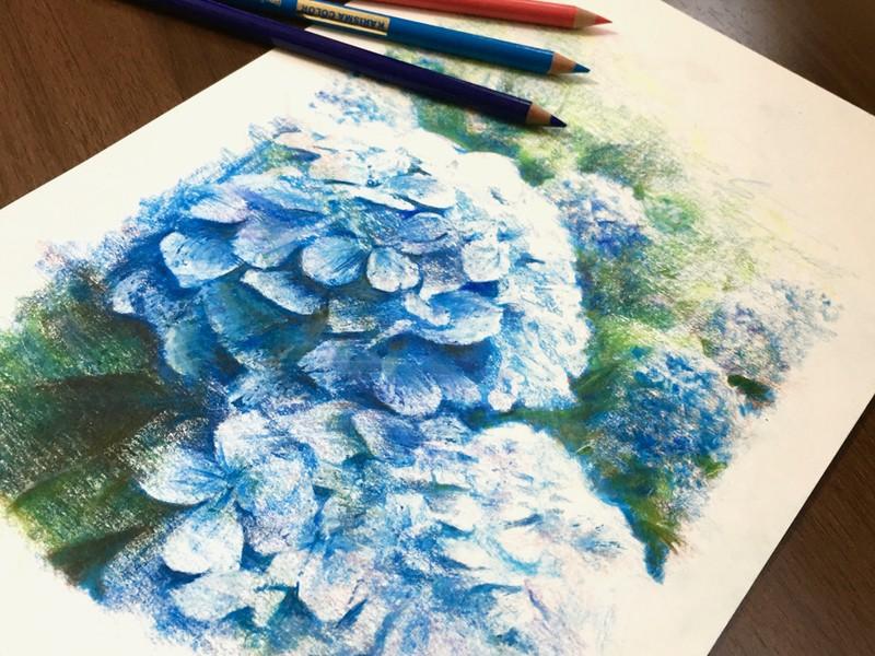 【選べるオンラインと対面講座】色えんぴつではじめる絵描き講座の画像