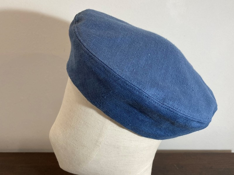 ハンドメイド帽子入門:ベレーの画像