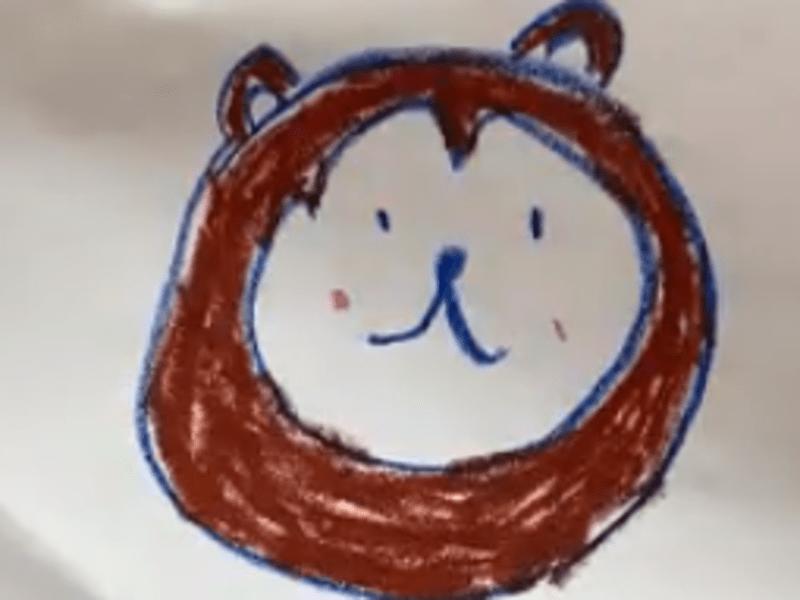 [3456さい向け]エイゴお絵かきのじかん どうぶつといきものの画像