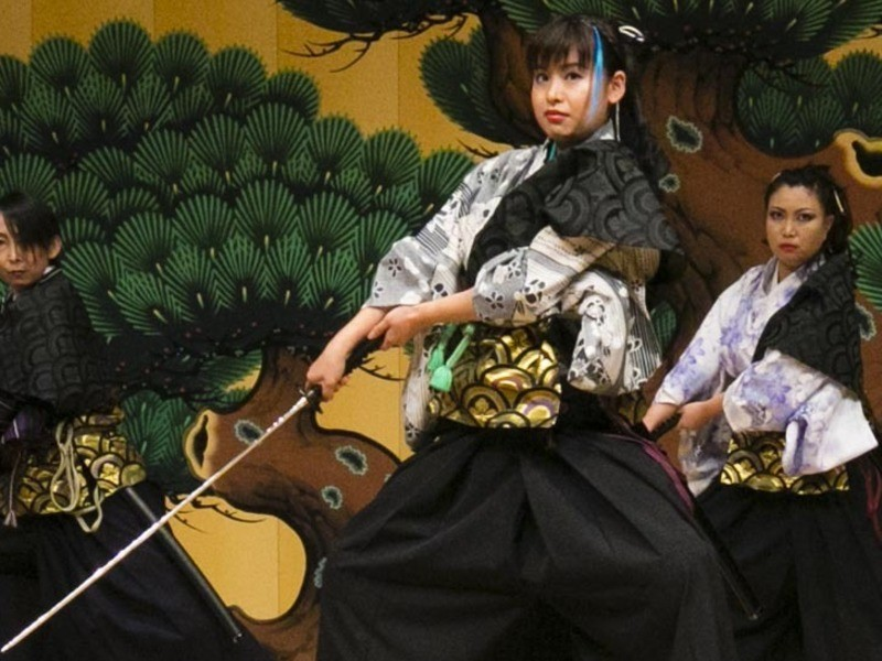 女性限定剣舞殺陣クラスの画像