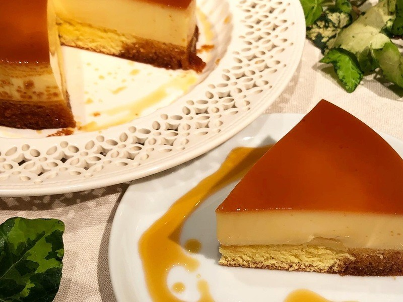 オンラインお菓子教室【プリンケーキを作ろう!】の画像