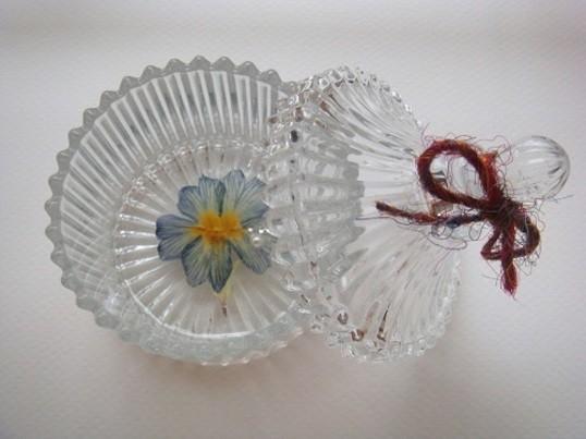 【自由が丘】鎖B / アコヤ真珠のイヤリング&押し花小物入れ作りの画像