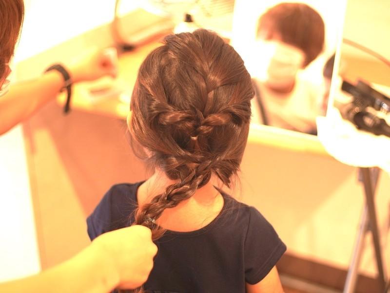 ママのためのヘアアレンジレッスン講座〜choi-cafe〜の画像